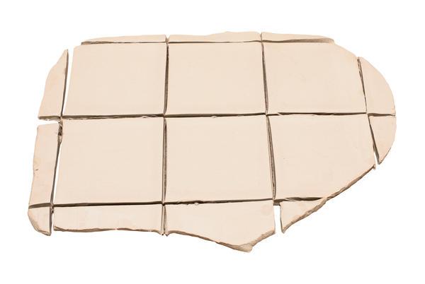 Clay slab 4 inch tiles
