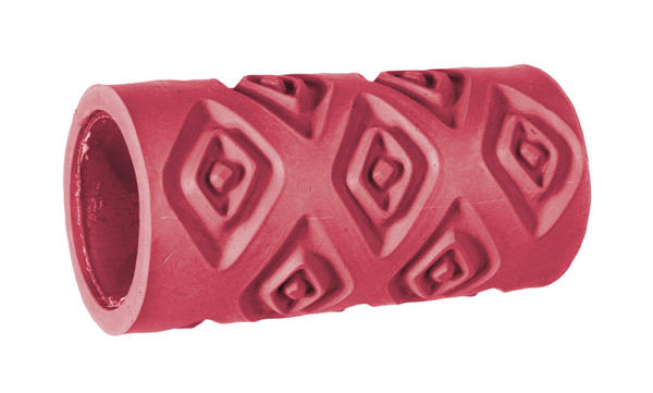 Texture roller 11235e red