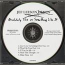 Jef Leeson - Absolutely This or Something Like It