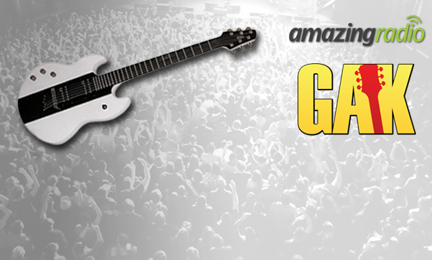Win a Guitar with GAK & Amazing Radio - Enter The Amazing Rock Show's Xmas Competition