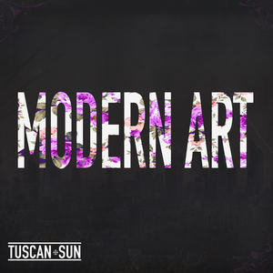 Tuscan Sun - Modern Art