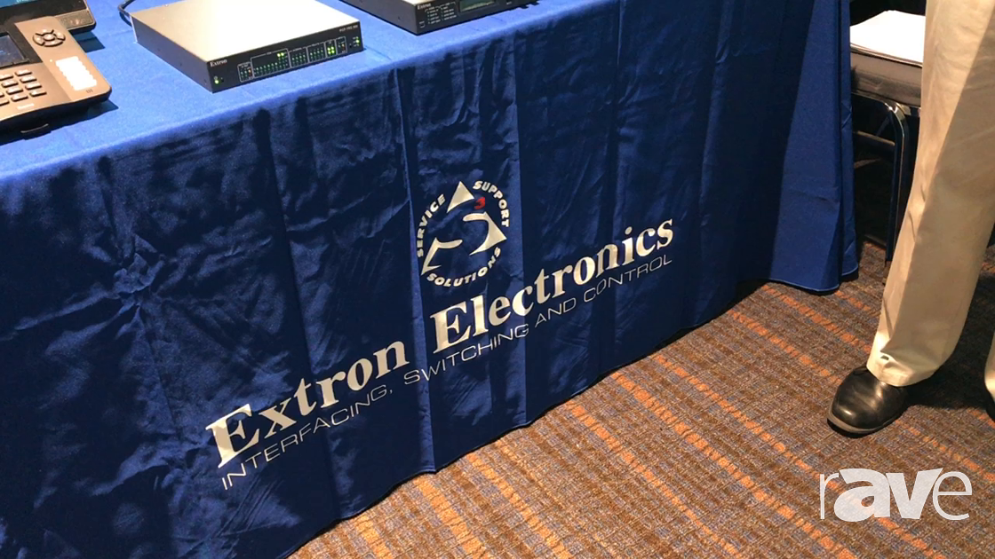 AVI LIVE: Extron Showcases Range of HD and Collaboration Prodcuts