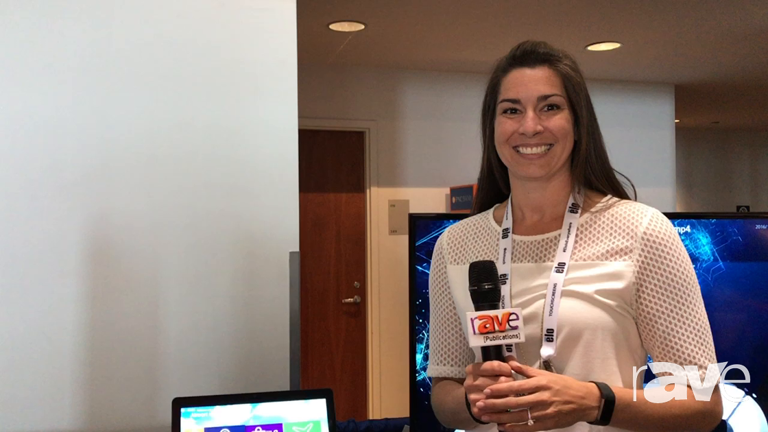 AVI LIVE: Elo Touch Solutions Shows Off Interactive Digital Signage I Series Displays