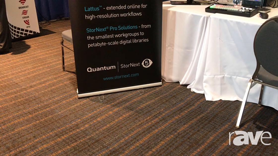 AVI LIVE: JB & A Distribution Presentes Quantum StorNext 5 File Systems