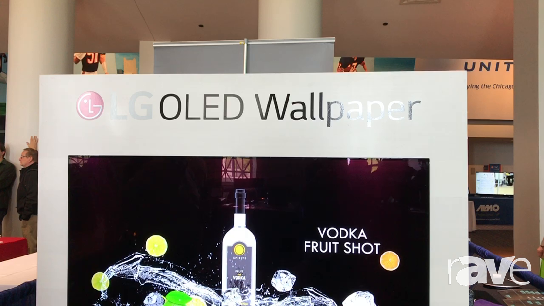 AVI LIVE: LG Presents OLED Wallpaper and Dual-View Display Technology Solutions