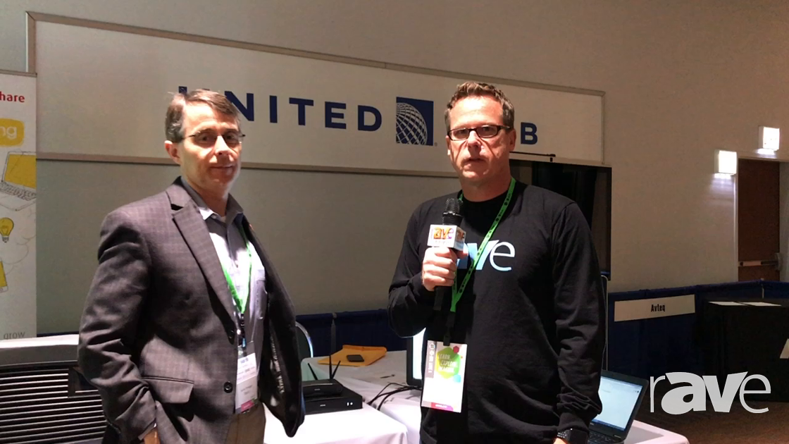 AVI LIVE: Gary Kayye and Barco's Jamie Finnegan Discuss ClickShare and 4K