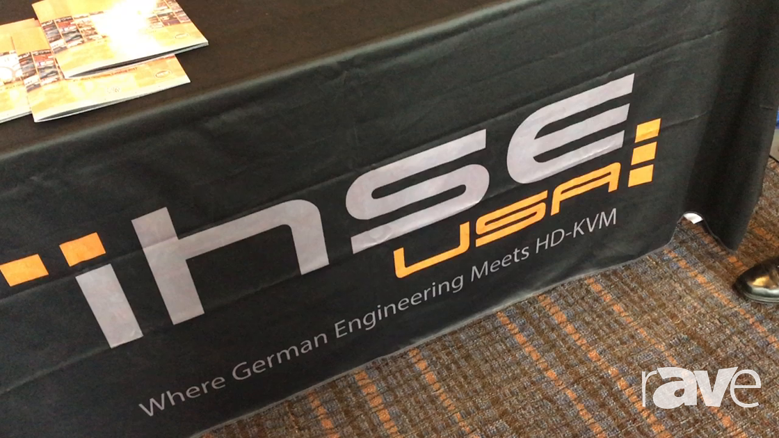 AVI LIVE: ihse Shows High Performnce HD-KVM Switchs and Extenders