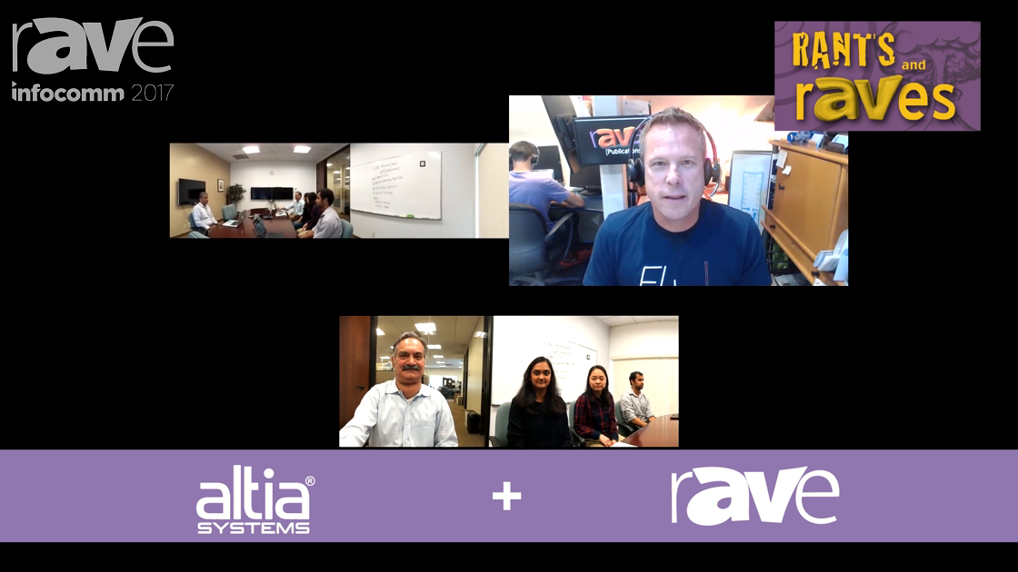 InfoComm 2017: Altia Systems Debuts PanaCast Whiteboard on rAVe RADIO Videocast
