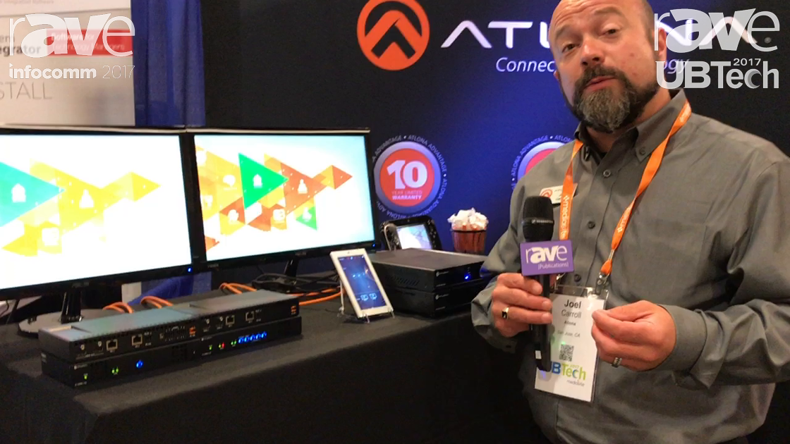 UBTech: Atlona Reveals Omnistream Encoder and Decoder System