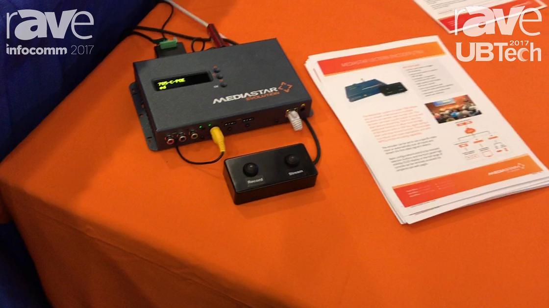 UBTech: MediaStar by Cabletime Presents Lectern Encoder (785)
