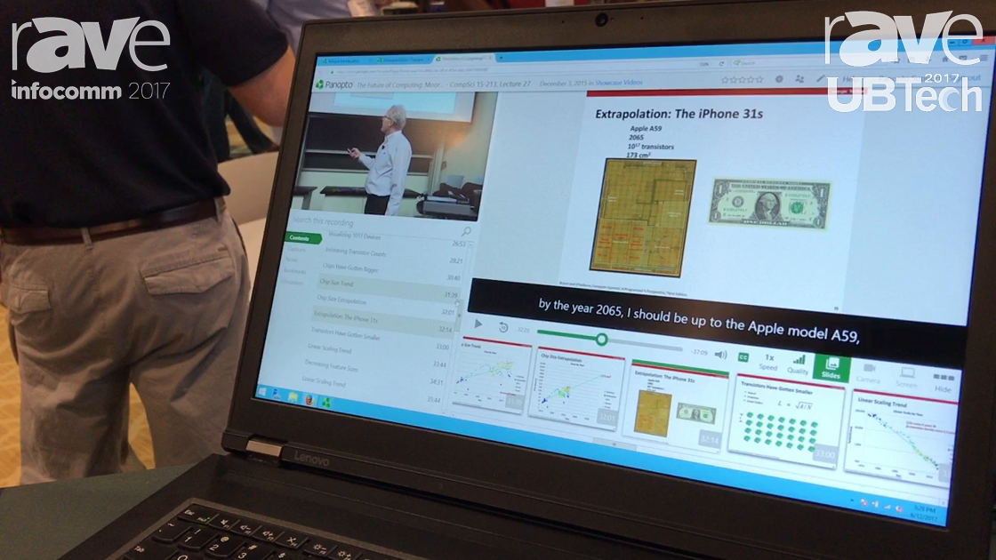 UBTech: Panopto Talks About Website Featuring Lecture Capture Content and Learning Management