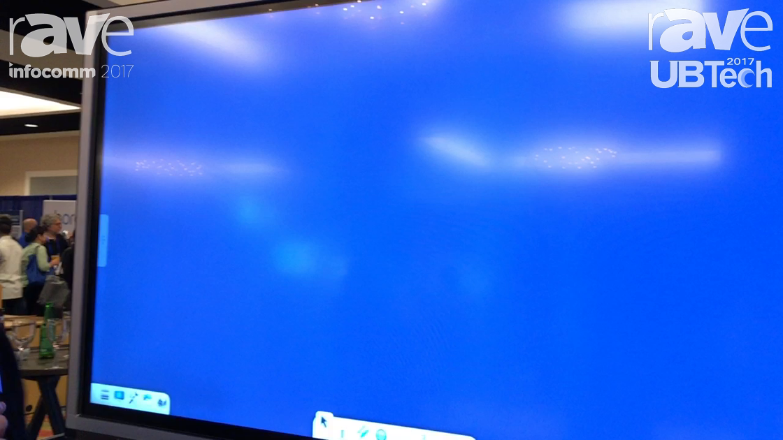 UBTech: ViewSonic Shows Off Its ViewBoard Interactive Display