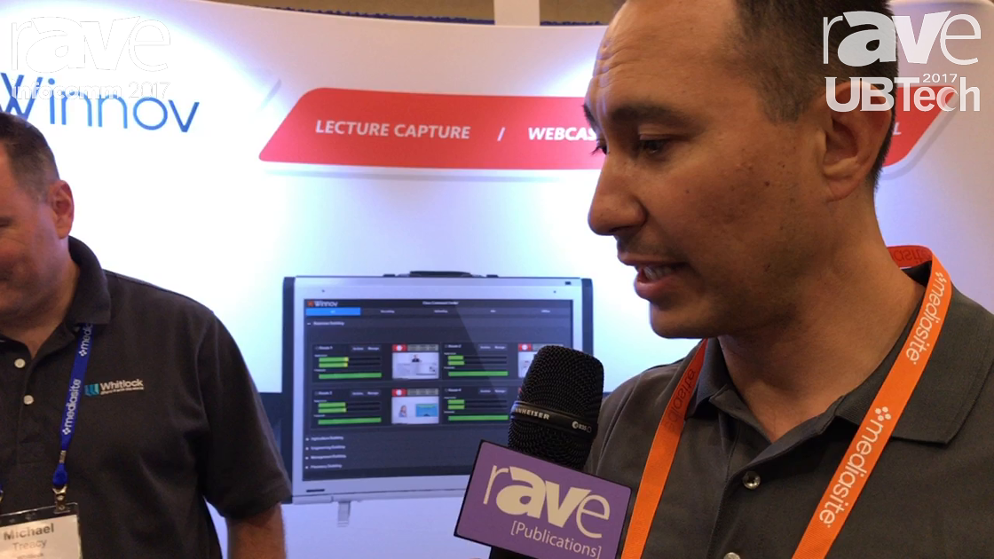 UBTech: Winnov Demos Its Lecture Screening Products