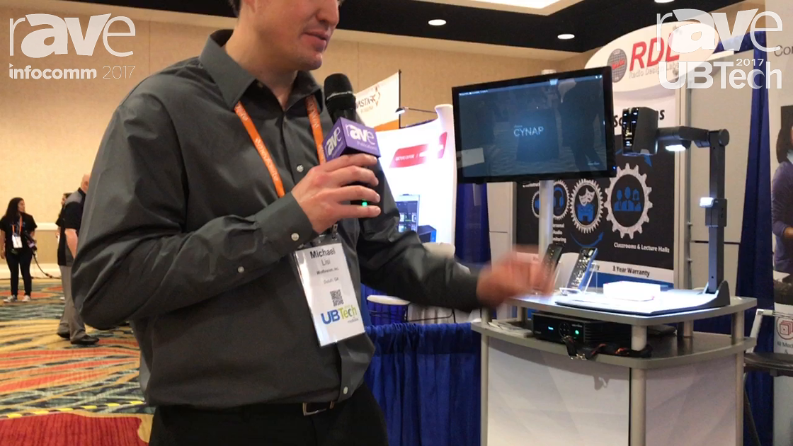 UBTech: WolfVision Features CYNAP Collaboration Product
