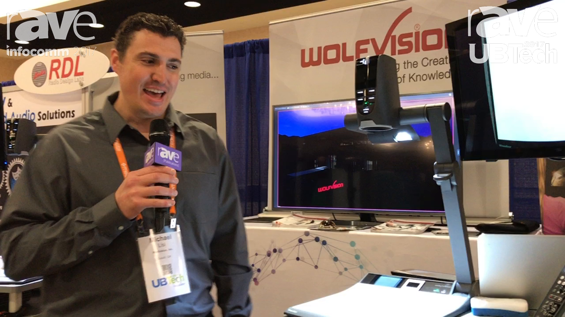 UBTech: Wolfvision Demonstrates VZ-9.4f Visualizer System