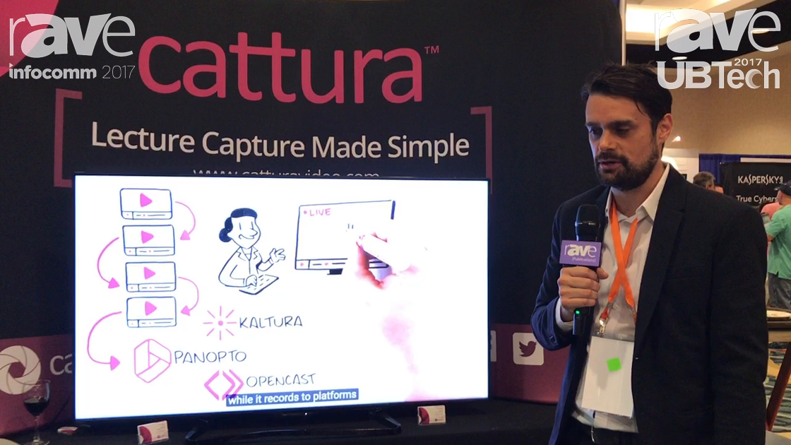 UBTech: Cattura Demonstrates Lecture Capture Recording Appliance