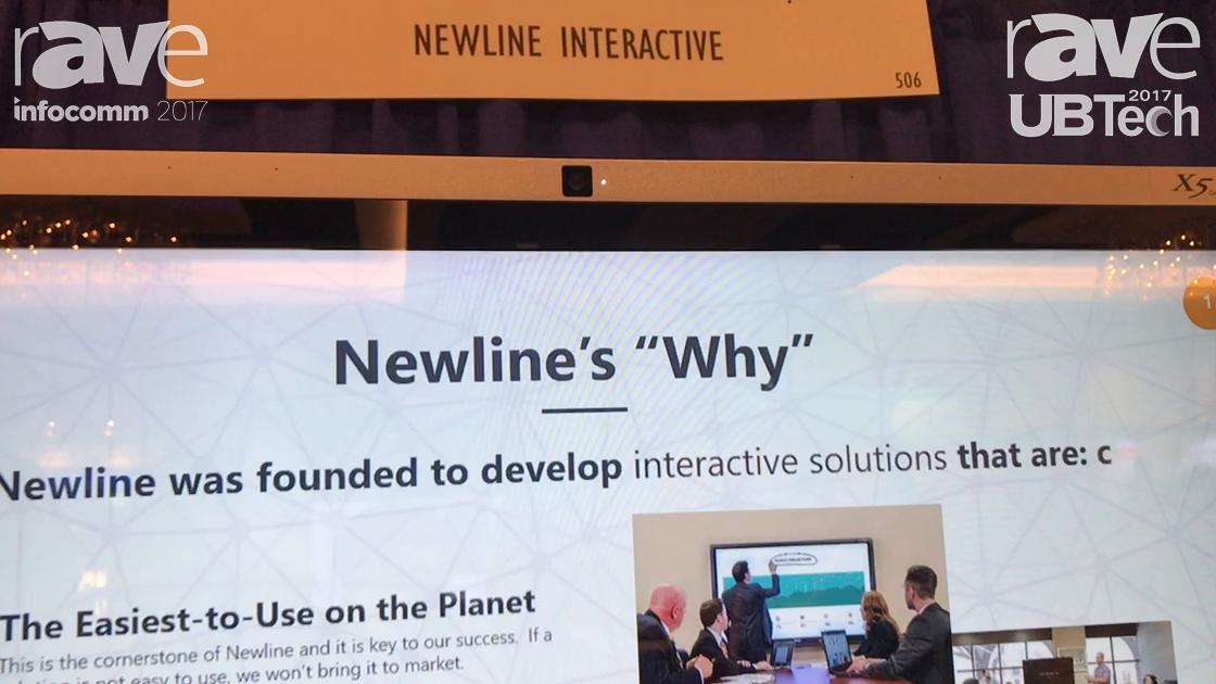 UBTech: Newline-Interactive Demos Interactive Touchscreen X Series