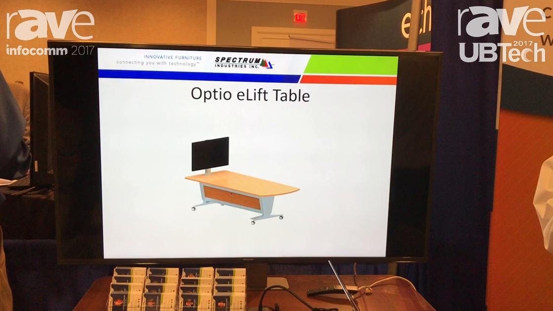 UBTech: Spectrum Industries Inc Introduces Optio Collaboration Table for Active Learning