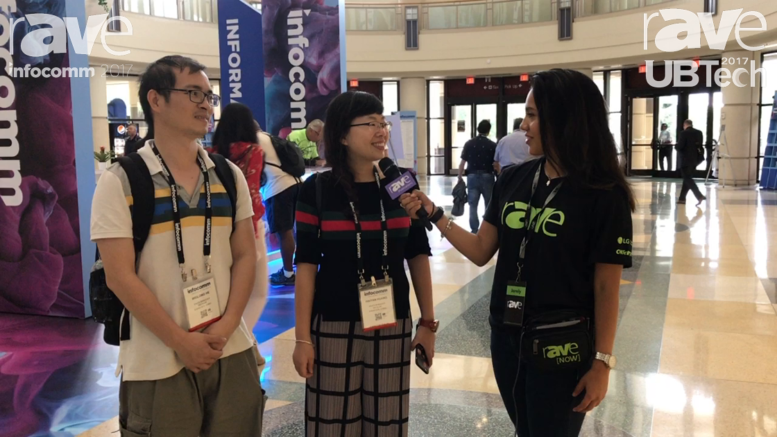 InfoComm 2017: Charles and Carrie Huang Talk About InfoComm17 with Jarely