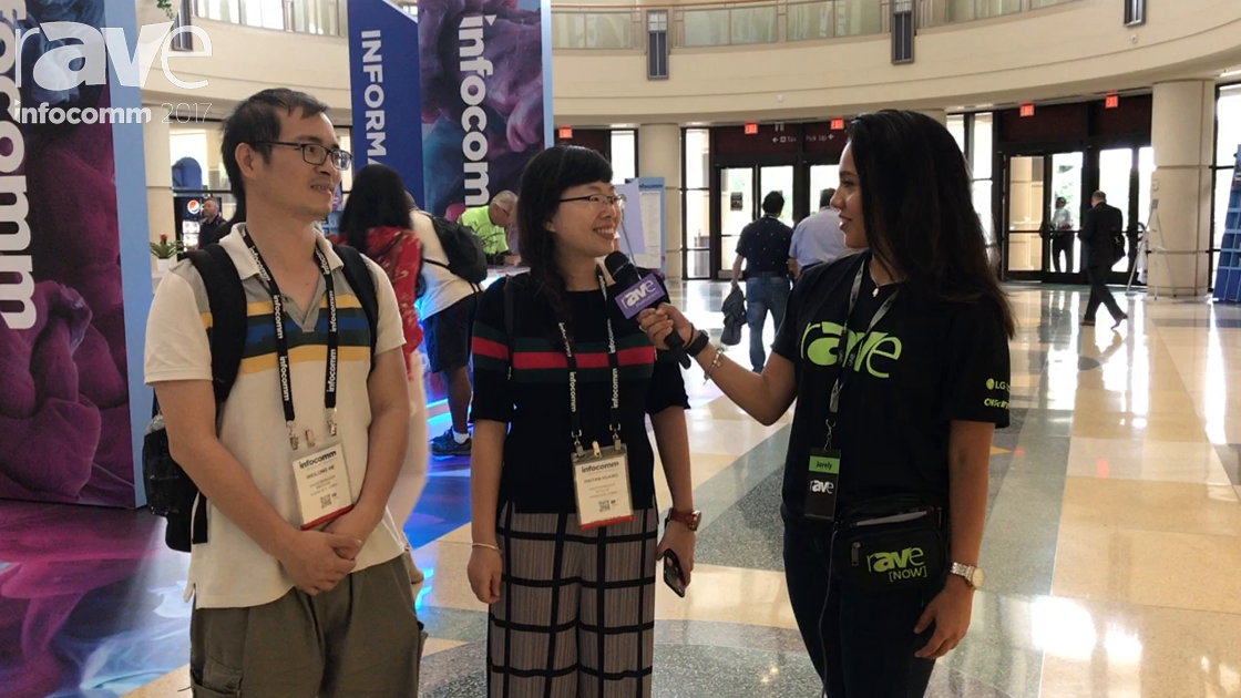 InfoComm 2017: Charles and Carrie Huang Talk About InfoComm 2017 with Jarely