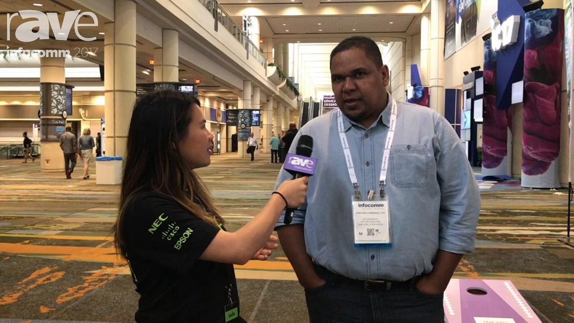 InfoComm 2017: Leslie Speaks to Juan Paula From AvT Corporation