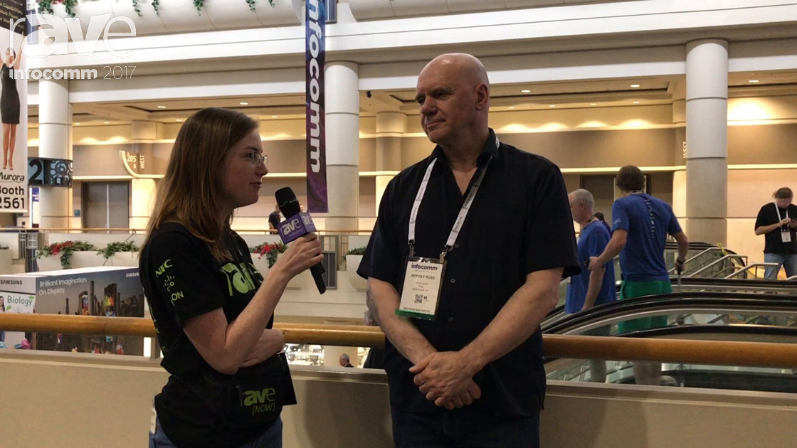 InfoComm 2017: Tiffany Speaks to Jeff Ross