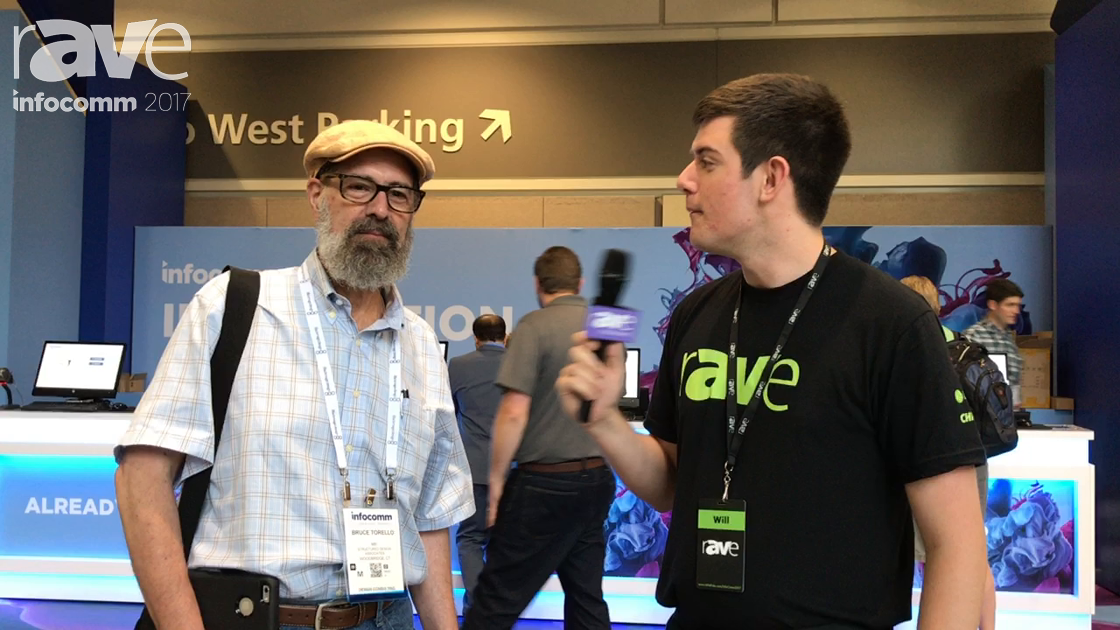 InfoComm 2017: Will Speaks with Bruce Torello from Structured Design Associates on Video Streaming