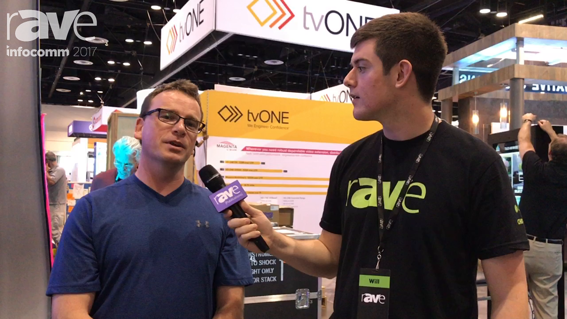 InfoComm 2017: Will Speaks with James Fife from rp Visual Solutions About Concave and Convex Curved