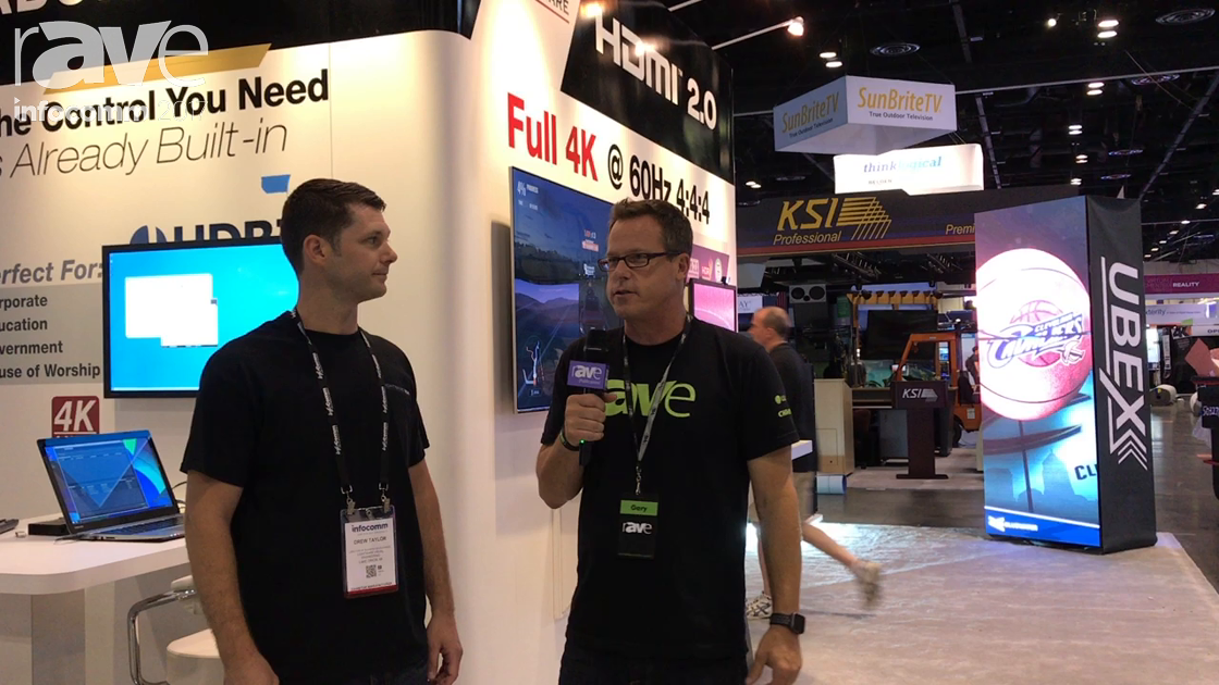 InfoComm 2017: Drew Taylor of Lightware Speaks with rAVe [Publications]