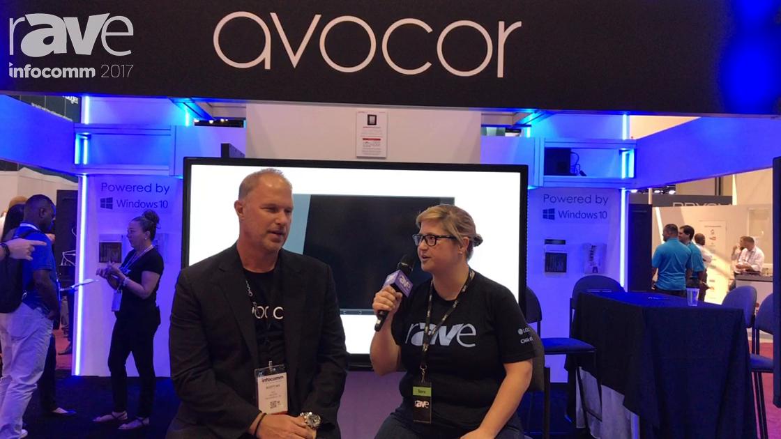 InfoComm 2017: Sara Abrons Interviews Avocor CEO Scott Hix