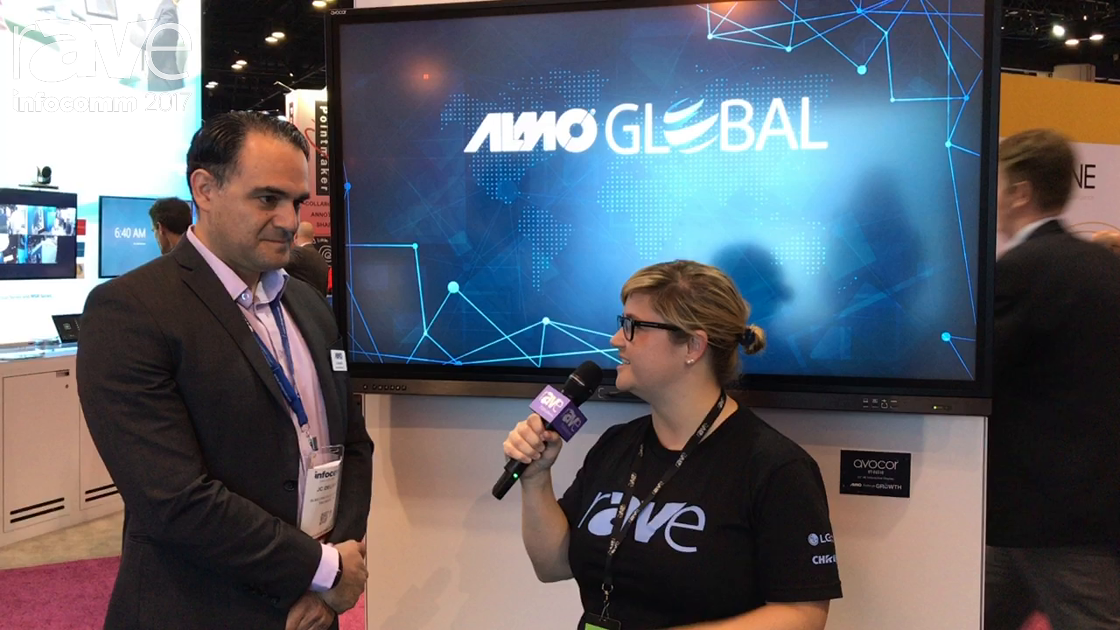 InfoComm 2017: Sara Abrons Interviews JC Delgado of Almo Pro A/V About Almo Global