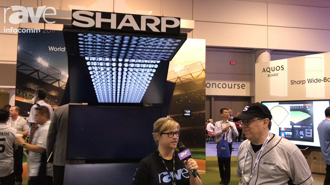 InfoComm 2017: Sara Abrons Talks to Steve Brauner About Playing Ball With Sharp
