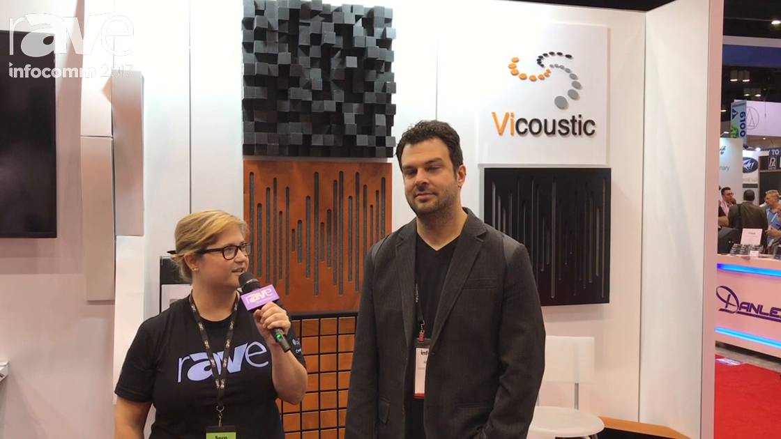 InfoComm 2017: rAVe Editor Sara Abrons Speaks to Simon Cote with Vicoustic