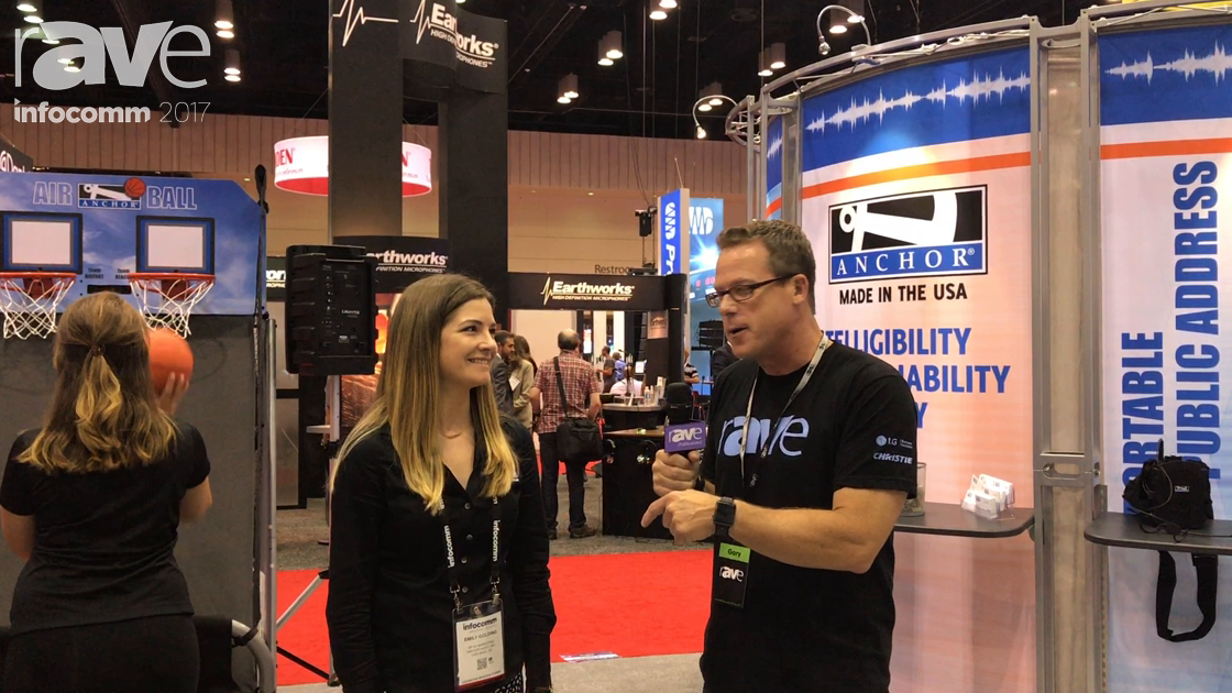 InfoComm 2017: Emily Golding of Anchor Audio Explains AIR Integration Into Beacon and Bigfoot