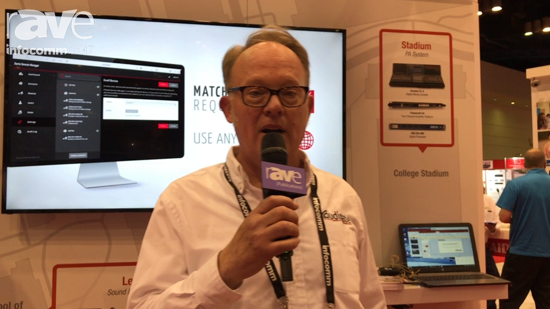 InfoComm 2017: Audinate Reveals Dante Domain Manager