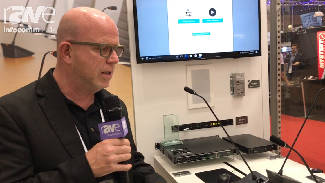 InfoComm 2017: Audio-Technica Explains the ATUC-50 Digital Discussion System