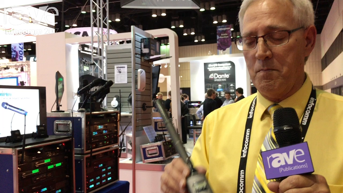 InfoComm 2017: Avlex Introduces the MIPRO TA-80 Plugon Transmitter