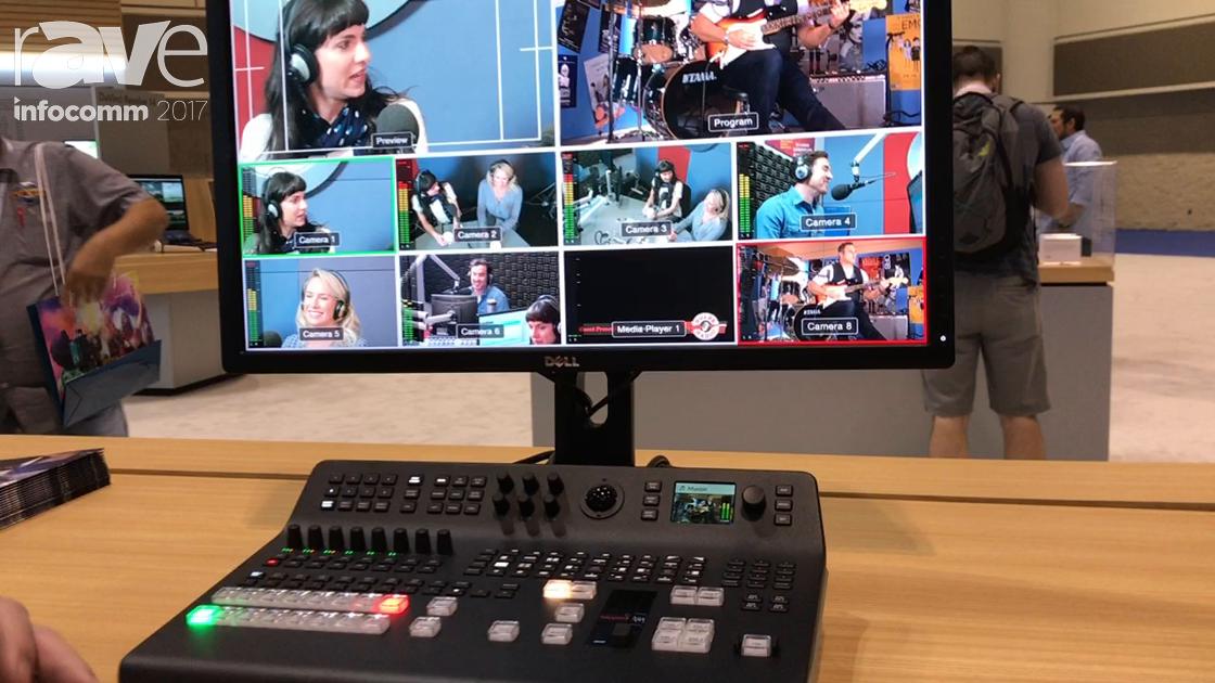 InfoComm 2017: Blackmagic Design Presents ATEM Television Studio Pro HD