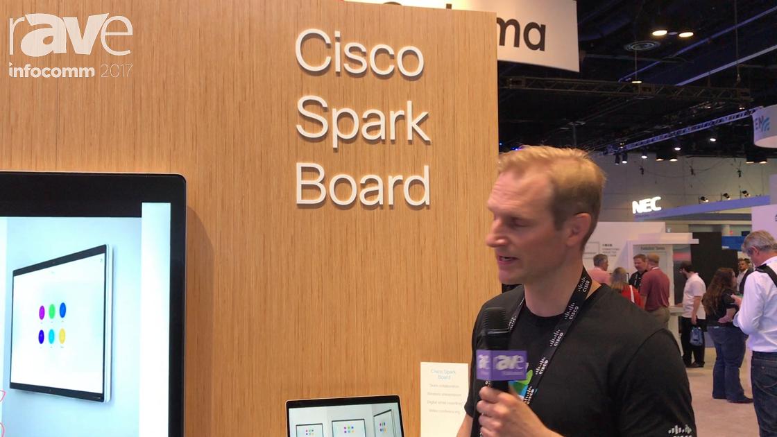InfoComm 2017: Cisco Demos Spark Board