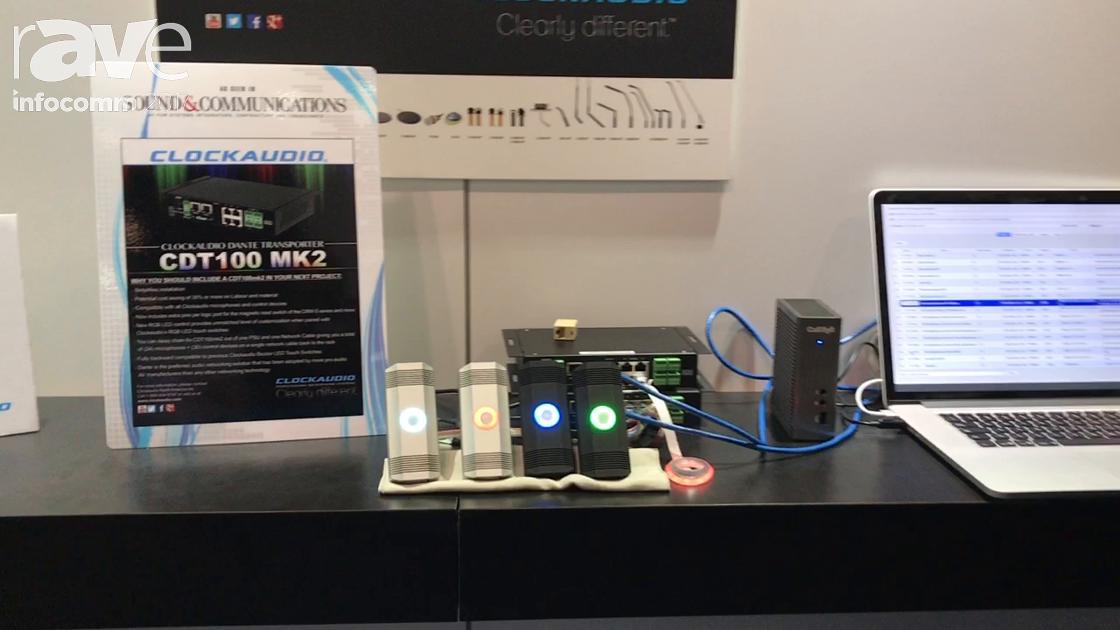 InfoComm 2017: Clockaudio Reveals CDT100 MK2 for RGB Control