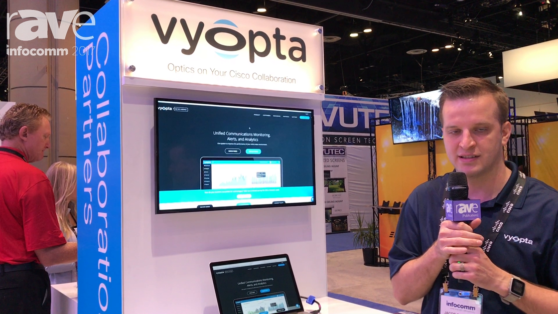 InfoComm 2017: Cisco Demos Vyopta vAnalytics
