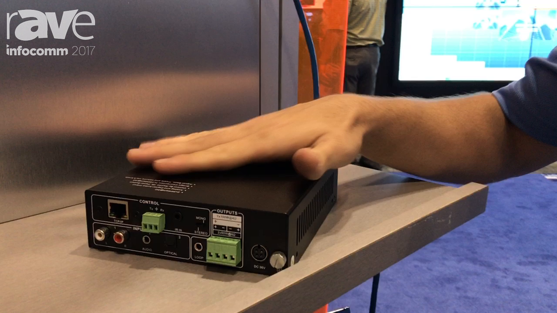 InfoComm 2017: Covid Shows Off 100W Audio Amplifier