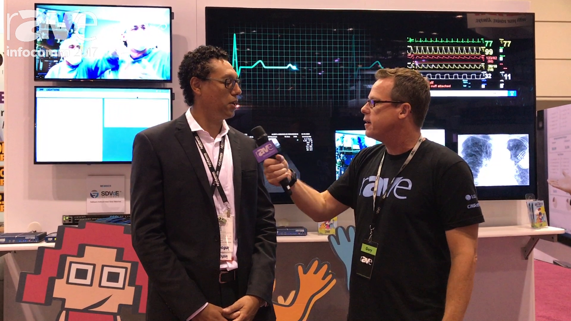 InfoComm 2017: Gary Kayye Speaks to Gerry Raffaut of IMAGsystems About its AV-over-IP Systems