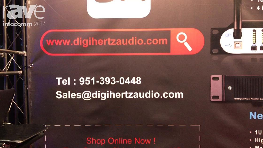 InfoComm 2017: Digiherts Audio Reveals Digital Speaker Processor for DAE428I before Q4 Debut