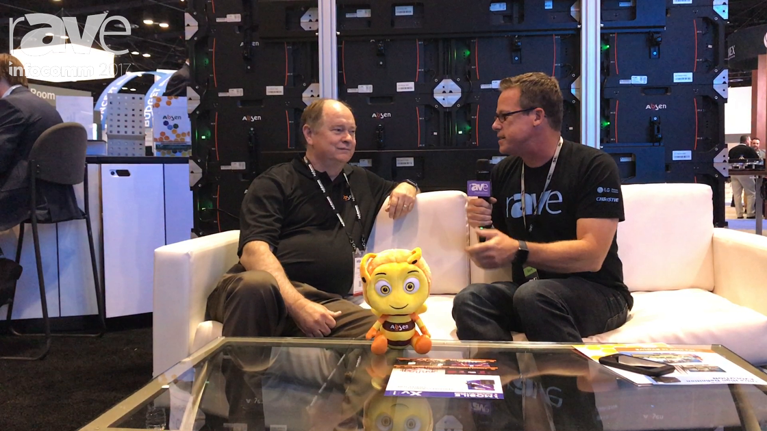 InfoComm 2017: Gary Kayye Talks to Gary Fuller of Absen About Its New US Distribution Strategy