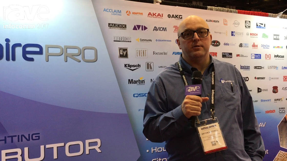 InfoComm 2017: Empire Pro Talks About Distributing Audio, Visual and Lighting Brands