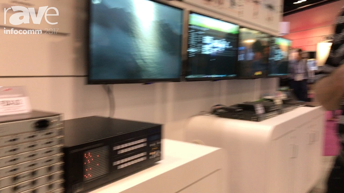 InfoComm 2017: IDK Shows Off FDX-32 Digital Matrix Switcher