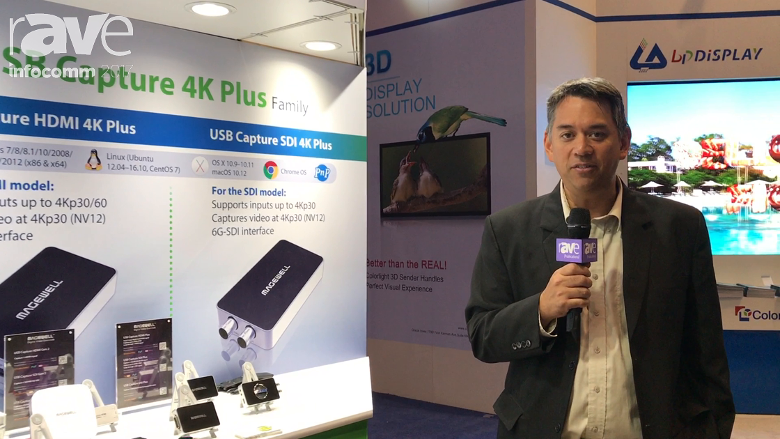 InfoComm 2017: Magewell Exhibits USB Capture 4K Plus for External Video