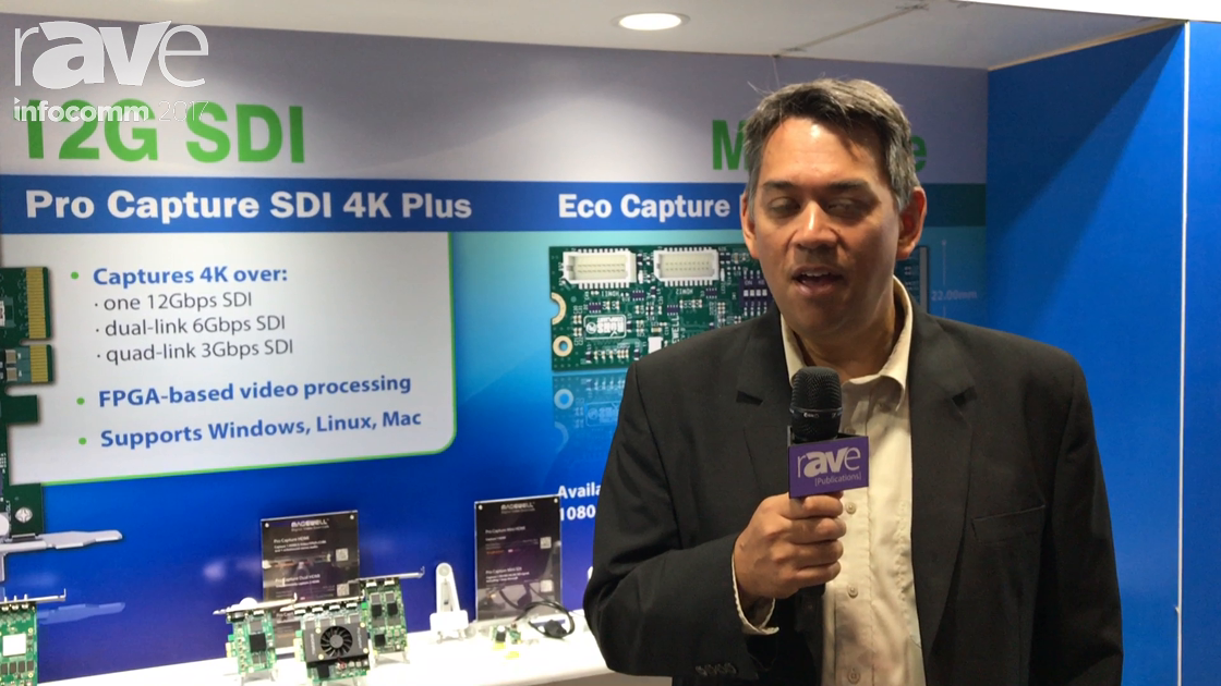 InfoComm 2017: Magewell Features Pro Capture SDI 4K Plus for Video Capture
