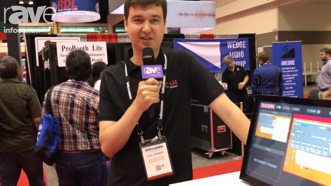 InfoComm 2017: MultiCAM Systems Demonstrates Tracking Solution for Presentations